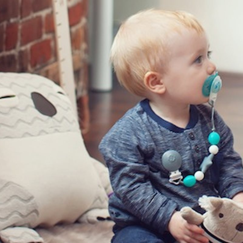 Pacifier clips and teething toys