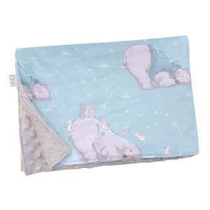 Couverture en minky Ours polaire - Oops