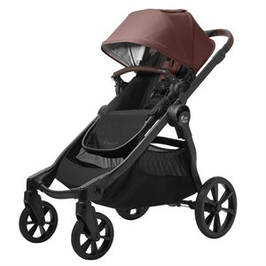 City Select2 w / Tencel Mulberry Burgandy - Baby Jogger