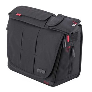 Sac à couche City Deluxe Noir - Bababing