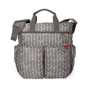 Sac à couches Duo Signature Grey Feather - Skip Hop
